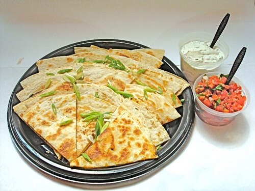 Blue Water Quesadillas