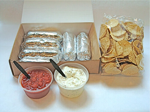 Burrito 6 Pack Express